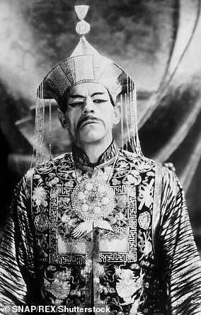 Boris Karloff in The Mask of Fu Manchu, 1930