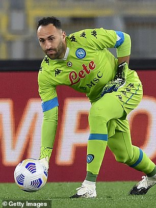 David Ospina may also miss out having travelled to a country on the UK's red-list