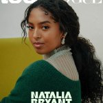 Natalia Bryant says she loves talking about dad Kobe as she covers the September issue of Teen Vogue💥👩💥💥👩💥