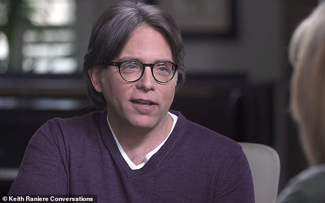 NXIVM sex cult leader Keith Raniere (pictured) was jailed for 120 years last year