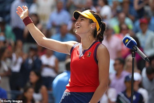 Britain's newest tennis sensation Raducanu defeated Belinda Bencic to continue her fairytale