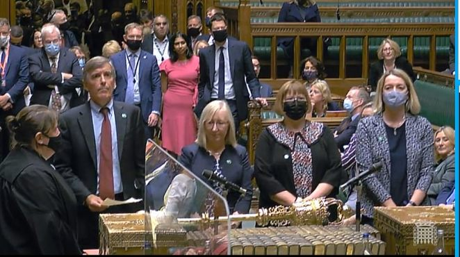 The House voted by 319 to 248 in favour of the 1.25 percentage point increase in NI contributions amid deep unhappiness among many Tory MPs