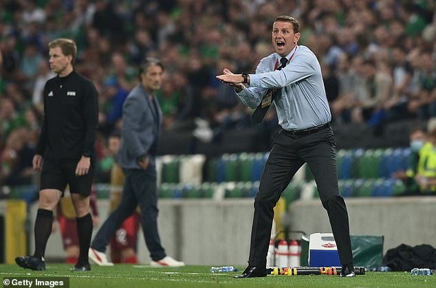 Ian Baraclough saw his side tussle for a point which keeps them in the mix to qualify for Qatar