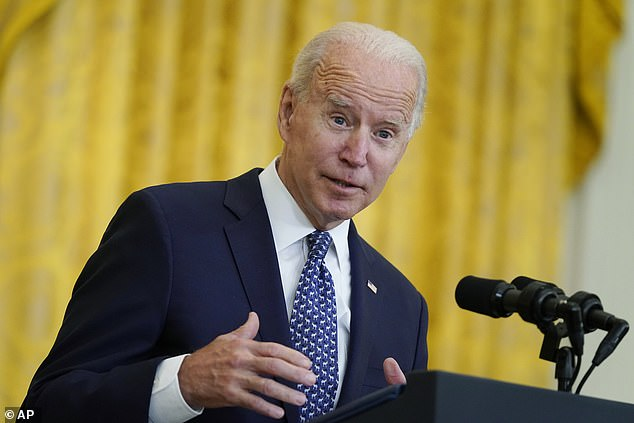 Biden made a cringey joke about his intimate knowledge of unions: 'By the way, of course, I sleep with a NEA member every night,' he said