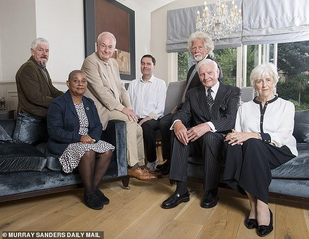 Baroness Lawrence, Nick Bramall, Alastair Morgan, Harvey Proctor, Michael McManus, Paul Gambaccini and Lady Brittan
