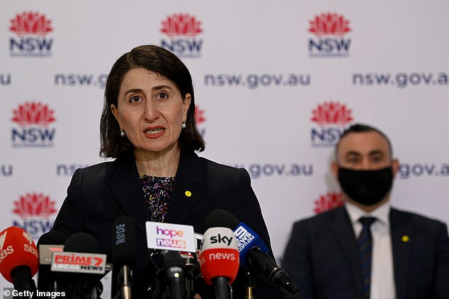 NSW Premier Gladys Berejiklian (pictured) has stated that while NSW may reach its 70 per cent vaccination targets soon, interstate travel may not be possible until the nation also reaches these targets