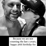 Bec Judd congratulates husband Chris on his 36th birthday - despite the AFL star actually turning 38💥👩💥💥👩💥