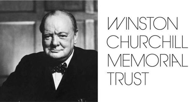 The original Winston Churchill Memorial Trust name was removed from the charity's website, as was a picture of the great man