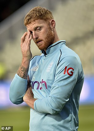 England's star all-rounder Stokes last played competitively in July this year