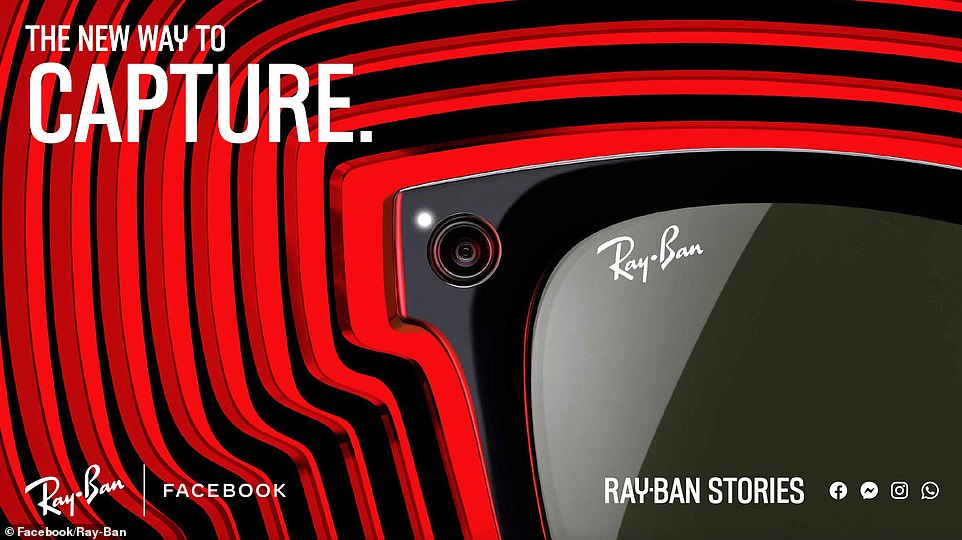 Facebook described the Ray-Ban Stories product as a way to seamlessly capture, share and listen through your most authentic moments