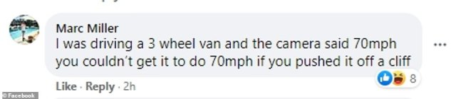 Outraged motorists have shared their experiences of being caught by the faulty speed camera online