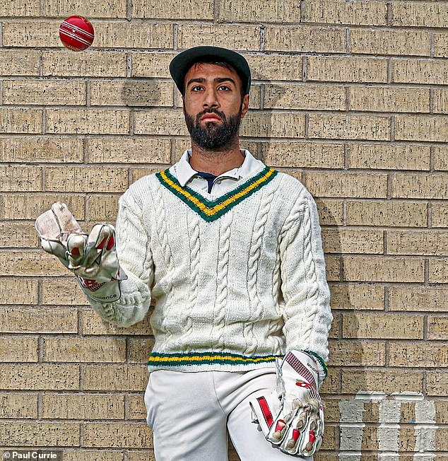 Bowling Baptist player Hassan Mughal, 28, had experiences of institutional racism growing up