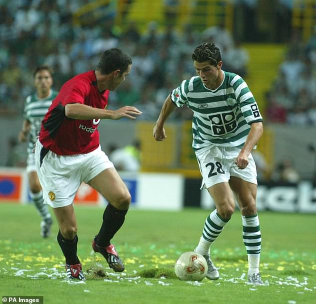 Ronaldo bamboozled United in August 2003 and then made his debut just over a week later