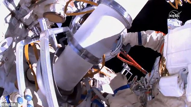 Cosmonauts Oleg Novitskiy and Pyotr Dubrov ventured outside the ISS at 10:51am ET for five hours to prepare the new Nauka Multipurpose Laboratory Module for operations