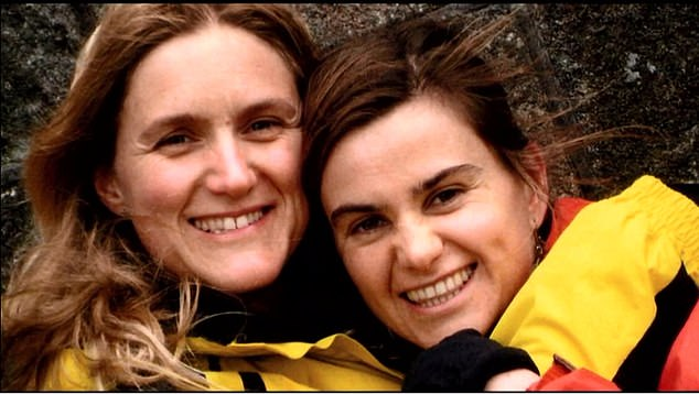 The occasion was a debate on the legacy of Jo Cox, the popular Labour MP for Batley & Spen murdered in 2016. Pictured: Kim (left) and Jo (right)
