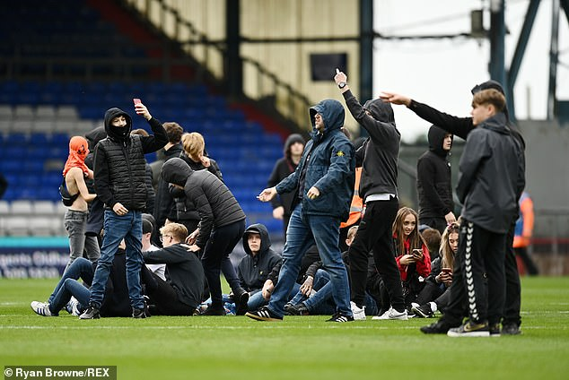 Oldham fans have staged many protests against the owners, and another is expected on Friday