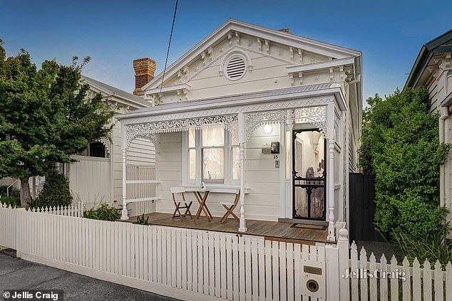 Selling up: Australian pop princess Kylie Minogue has sold her charming investment property in Armadale, Melbourne, for $1.715million
