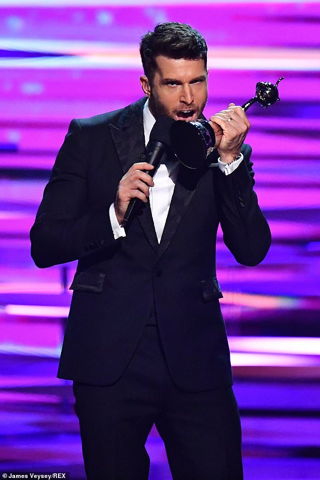 Job well done! New National Television Awards host Joel was a hit with viewers last week