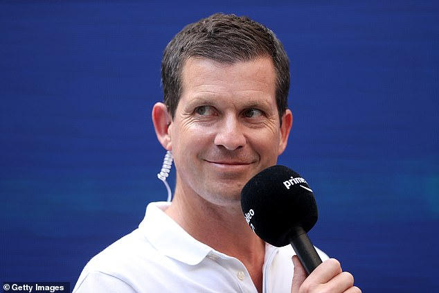 Former British No 1 Tim Henman. Henman has worked closely with Raducanu in recent weeks