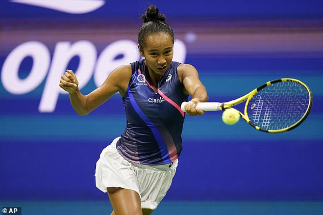 Fernandez knocked out second seed Aryna Sabalenka 7-6, 4-6 6-4 in New York City