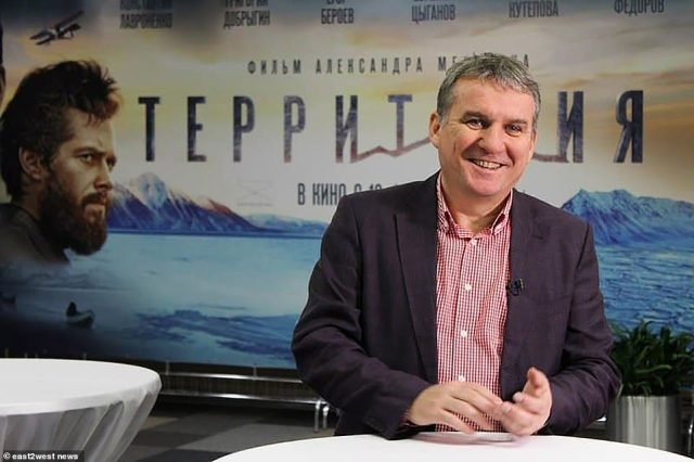 Documentary filmmaker Alexander Melnik (pictured), 63, who Zinichev had been trying to save, also died on Wednesday