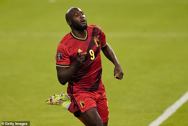 Striker Lukaku required a scan on a thigh injury sustained on international duty with Belgium