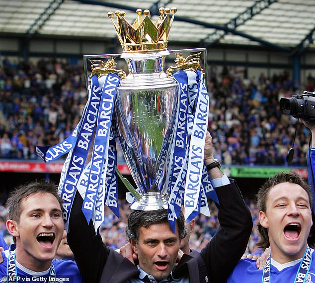 But the Portuguese helped Chelsea transition to being genuine giants of English football