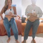 Fiona Falkiner shows off her post baby body five months after welcoming son Hunter 💥👩💥