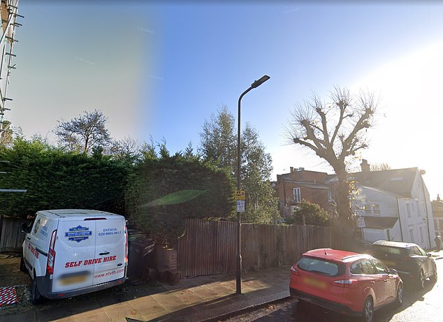 Fury erupted at a Camden Council planning meeting over the development of four new homes on this site inGondar Gardens, West Hampstead
