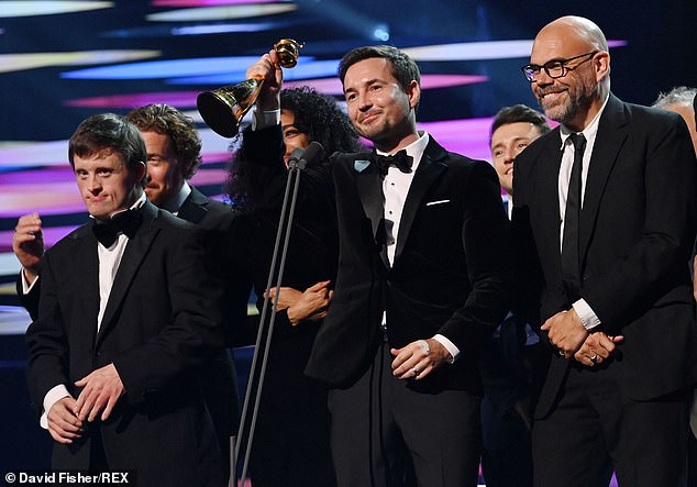 Well done!It was a very successful night for Line Of Duty at the National Television Awards on Thursday night, bagging two awards - Special Recognition and Best Returning Drama