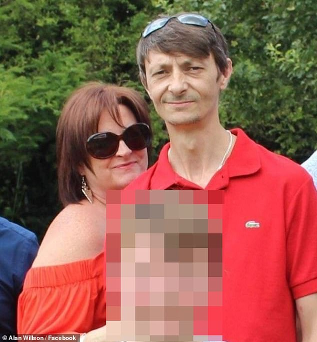 Father-of-three Alan Willson (right) was left seriously injured with severe brain injuries after he rushed from his home in Worthing to defend his 11-year-old son from bullies at a nearby park