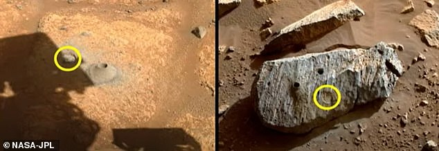 The news follows the rover's successful mission of collecting two rock samples, named 'Montdenier' and 'Montagnac,' earlier this week