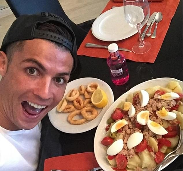 Ronaldo was the first player at Man United to have their own personal chef cooking high-protein meals