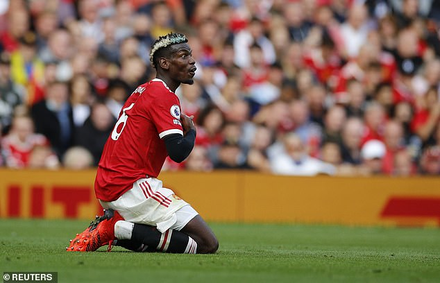 Paul Pogba may have to play in a deeper role so United can show their full attacking style