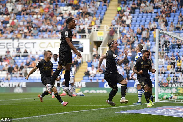 Stefan Johansen sealed a point for QPR in the dying moments after Reading had lead late