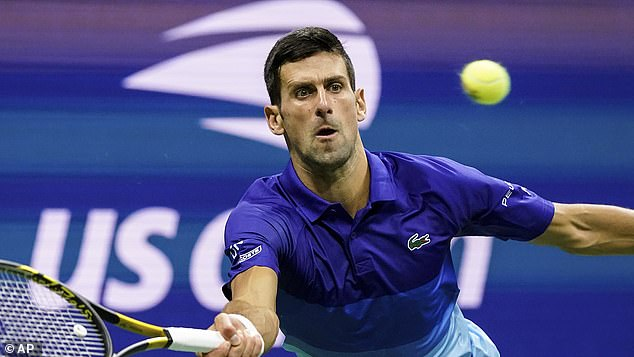 Novak Djokovic (pictured) is on the brink of greatness and could win a record 21st Major title