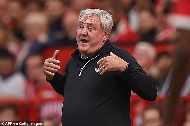 Steve Bruce reacted angrily to questions over his future as Newcastle manager on Saturday