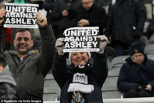 Magpies legend Shearer and the majority of the fans are united against the unpopular owner