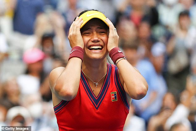 The world of sport has united to pay tribute to Emma Raducanu after her US Open triumph