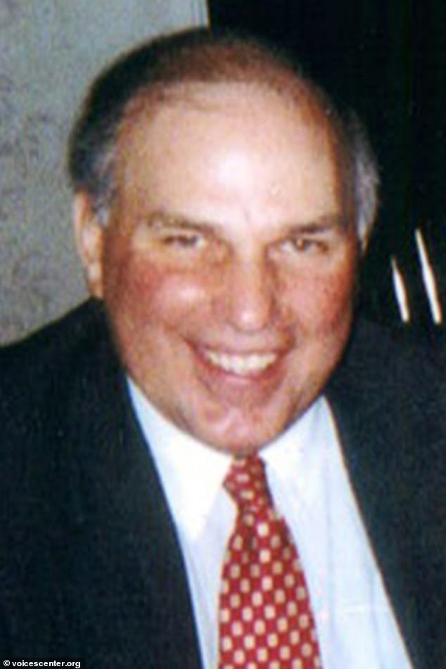 Spero's grandfather,Michael V. San Phillip (pictured) worked as an investment banker in the South Tower