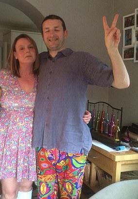 Jamie Angus with wife Nicola