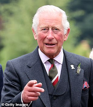 The Prince of Wales, 72,visits Alloway mainstreet in Ayr