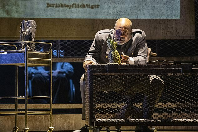 ETO Director James Conway wrote the opera would prioritise 'increased diversity in the orchestra' as there have been 'steady advances' in this area on stage (pictured, Ronald Samm as Olim in a production of The Silver Lake)