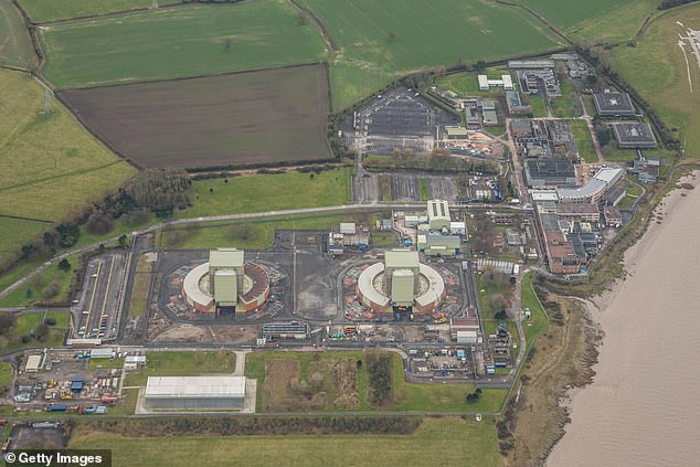 The ITV investigators have settled on a farm on the outskirts of Berkeley, Gloucestershire, which they believe could be the site where Fred West buried another 12 bodies apart from the ones already discovered by police (pictured: fields close to Berkeley nuclear power station)