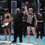 Transgender MMA fighter who used to be in US Army special forces wins debut 💥👩💥
