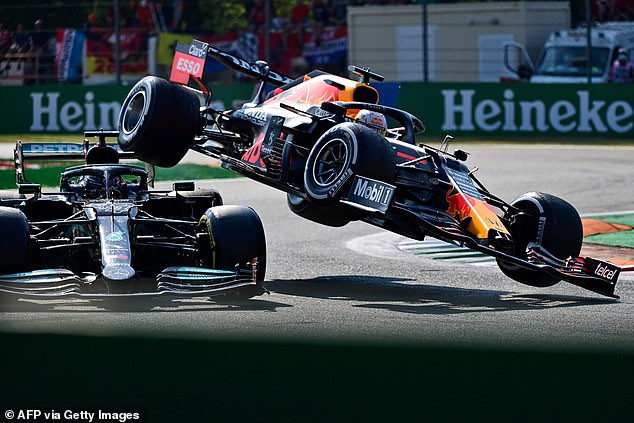 Verstappen retains a five-point lead over Hamilton in the title race after today's crash