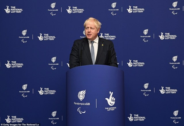 The Prime Ministerattends the National Lottery's ParalympicsGB Homecoming at SSE Arena Wembley