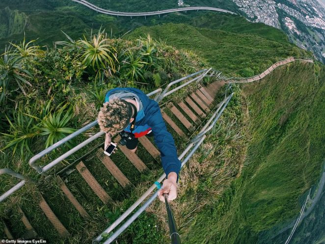 The Honolulu City Council voted unanimously last Wednesday to remove the state's Haiku Stairs or 'Stairway to Heaven'