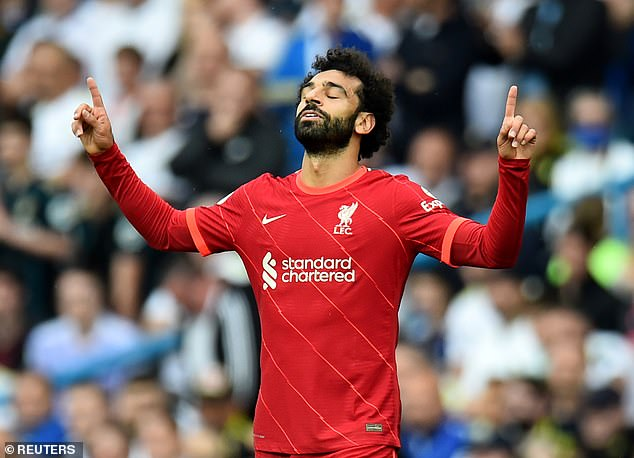 Salah has less than two years left on his deal but is still yet to sign, holding out for higher wages