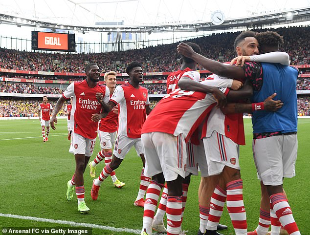 Arsenal got their first win of the season on Saturday after they beat Norwich City 1-0